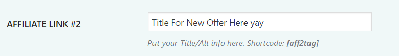 title new offer