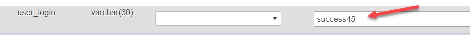 user login name