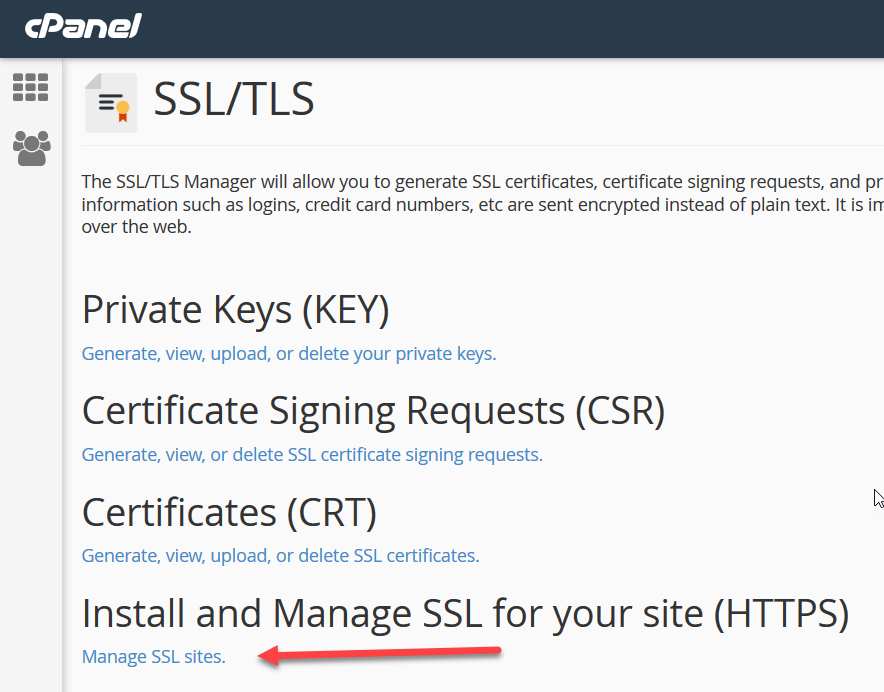 install ssl certificate cpanel