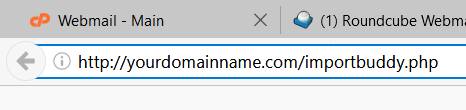 restart importbuddy script