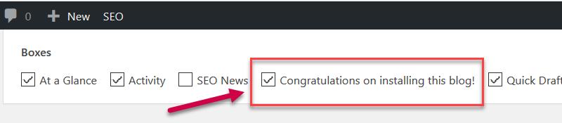congratulations check