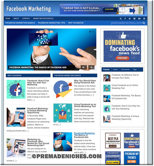 Facebook Marketing Ready Made Blog