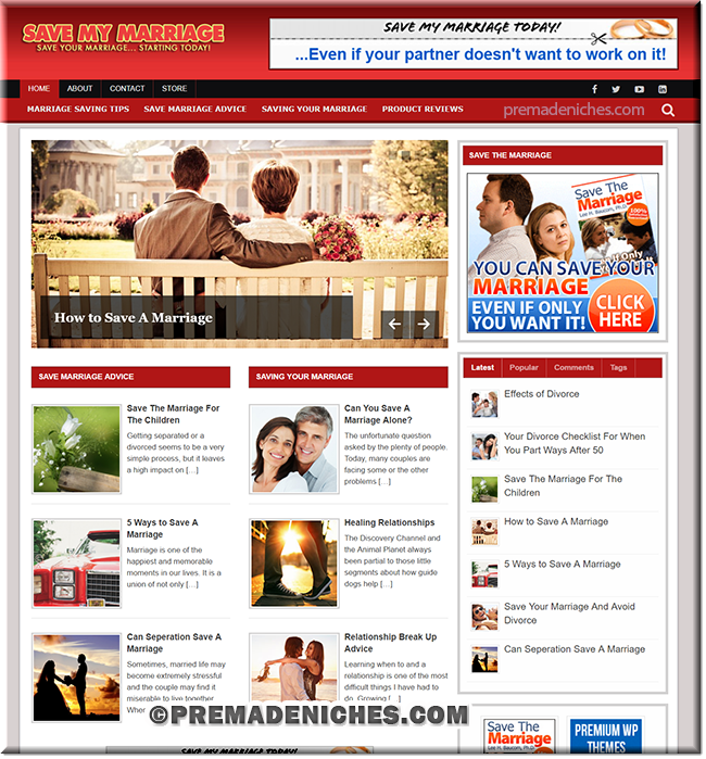 save marriage ready blog website