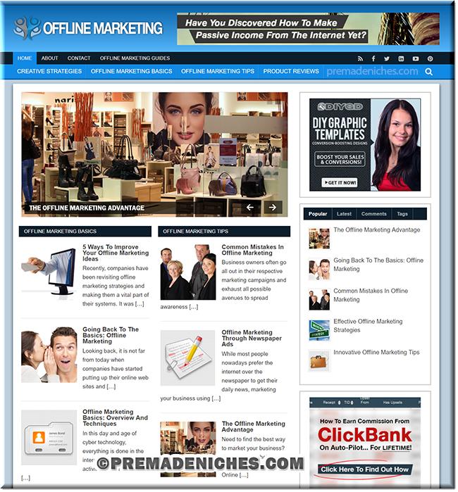 offline marketing turnkey website