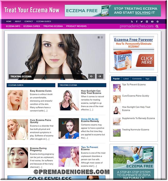 eczema wordpress blog