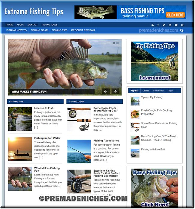 ready made blog fishing