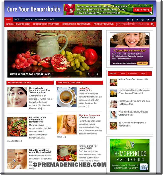hemorrhoids ready made blog
