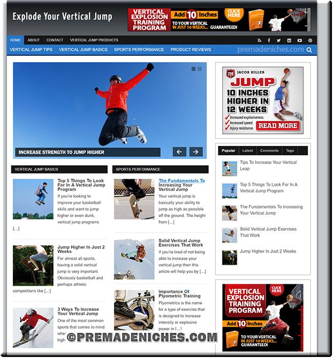 vertical jump niche blog