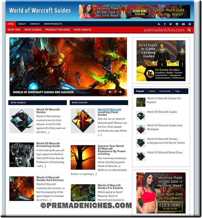 world of warcraft niche blog