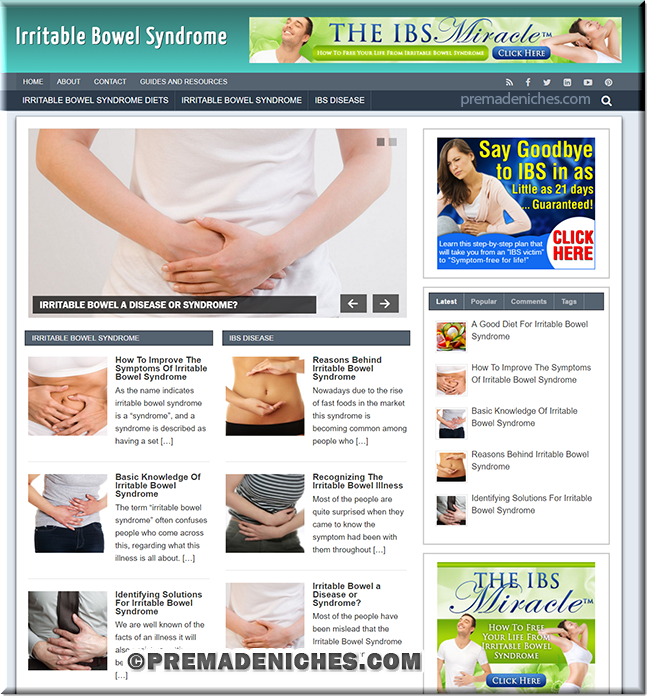 irritable bowel turnkey site