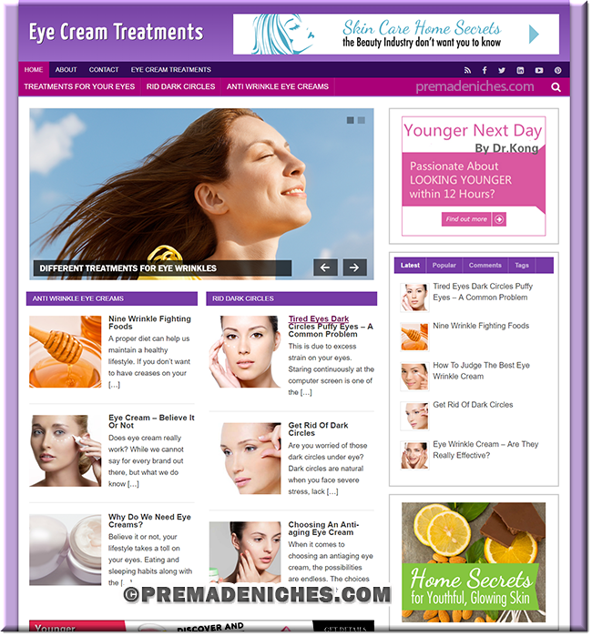 eye cream treatments blog