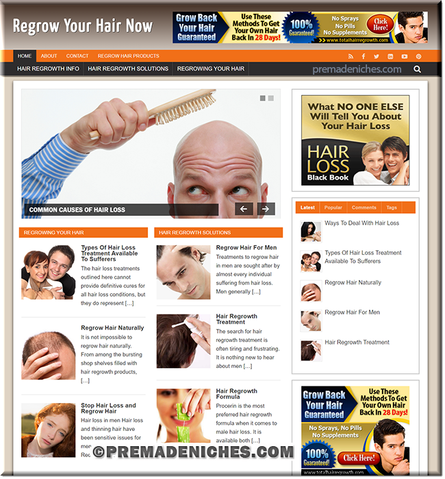 regrow hair ready made blog