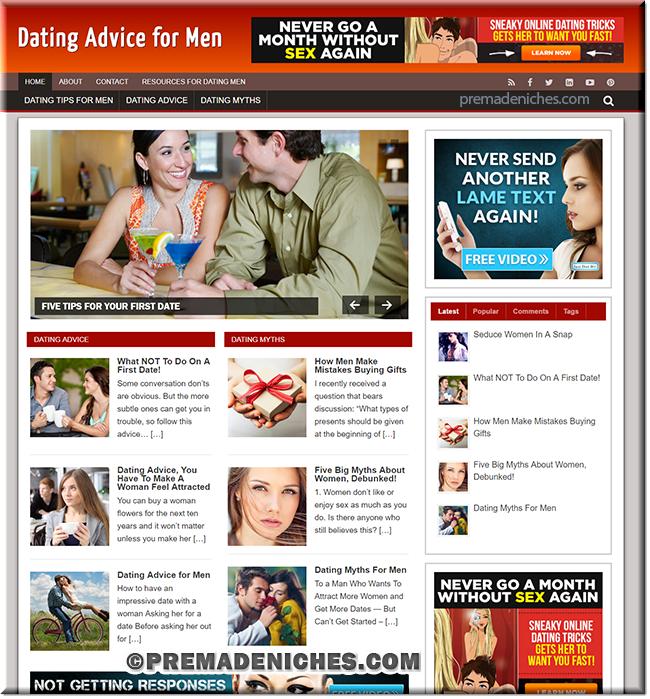 dating men plr blog