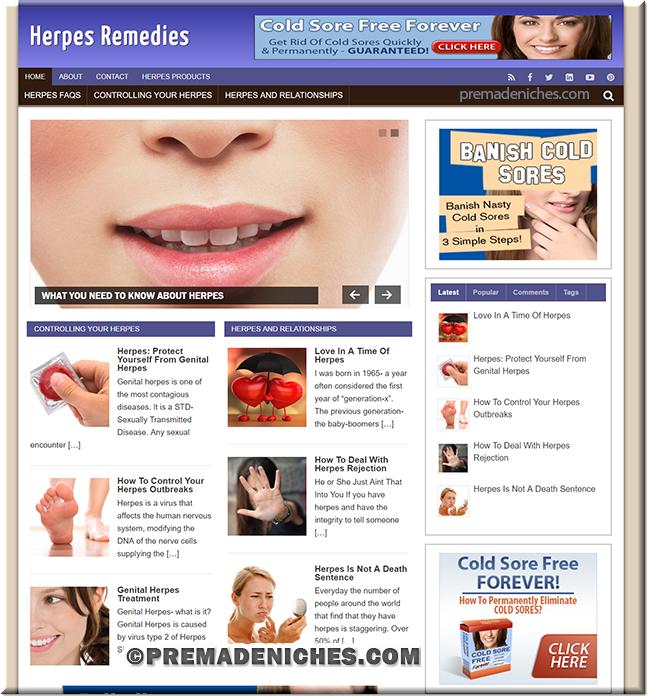 herpes niche blog