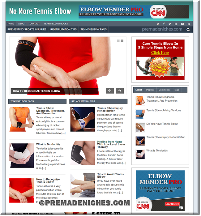 tennis elbow blog