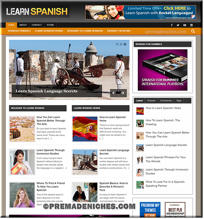 learn spanish turnkey blog