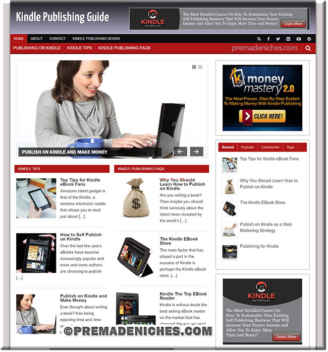 kindle publishing blog