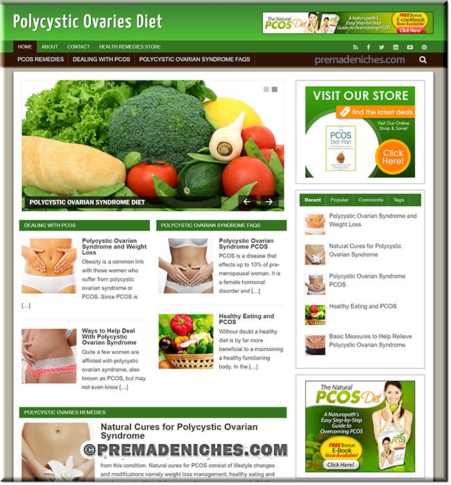 polycystic clickbank turnkey blog