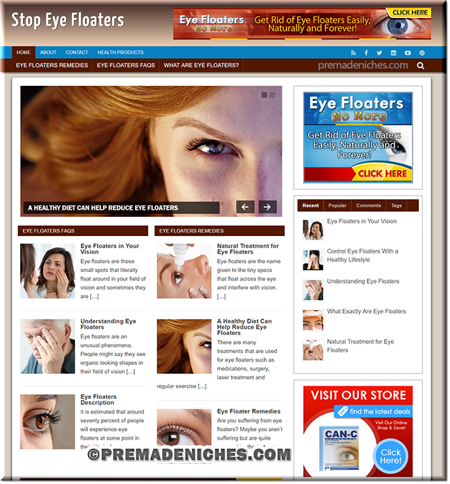 eye floater plr niche site