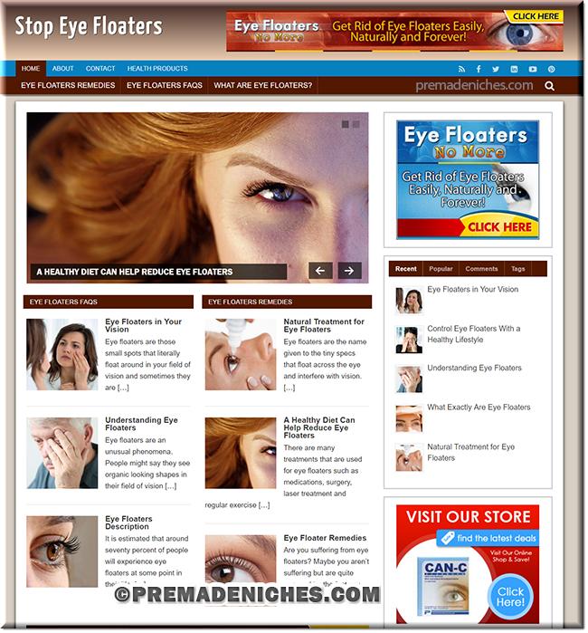 eye floater plr niche site