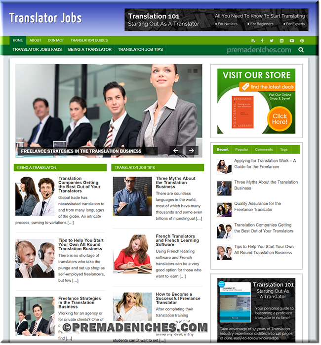 translator jobs affiliate website