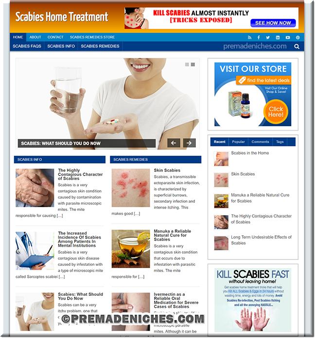 scabies plr blog