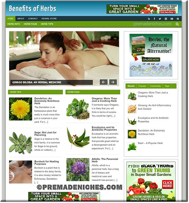 herbs niche site