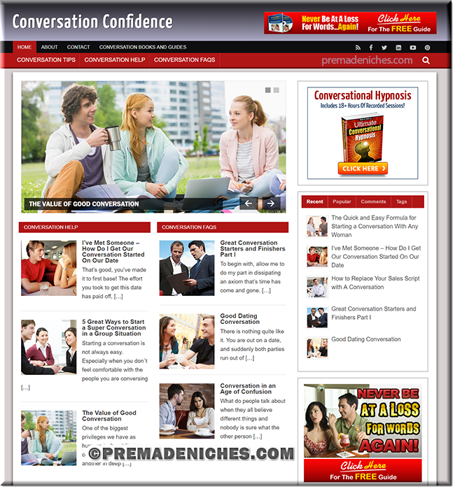 conversation plr blog