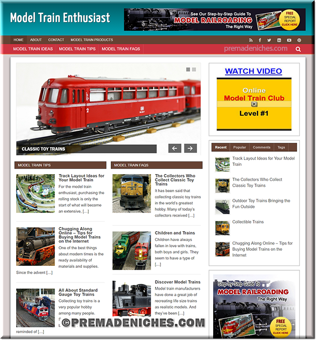 model train plr blog