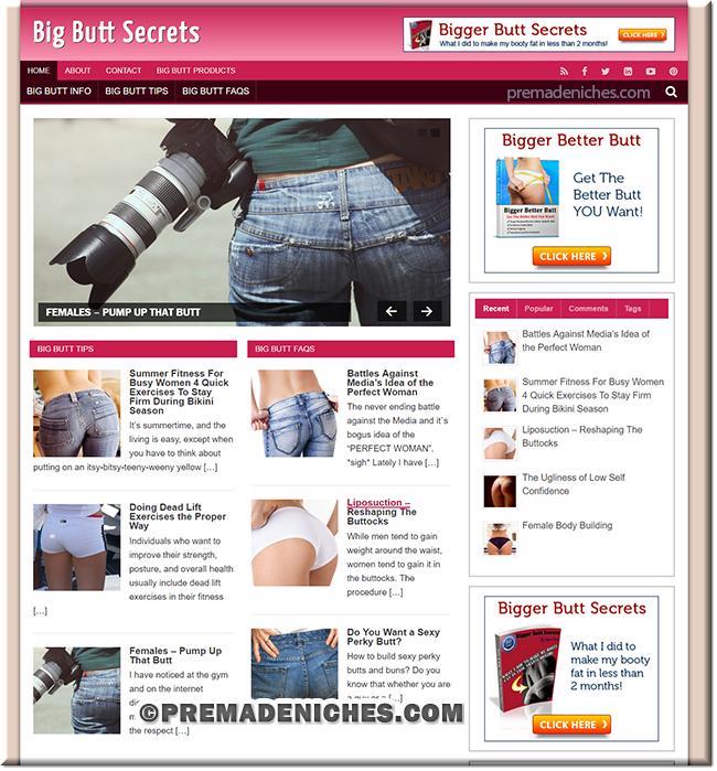 big butt plr site