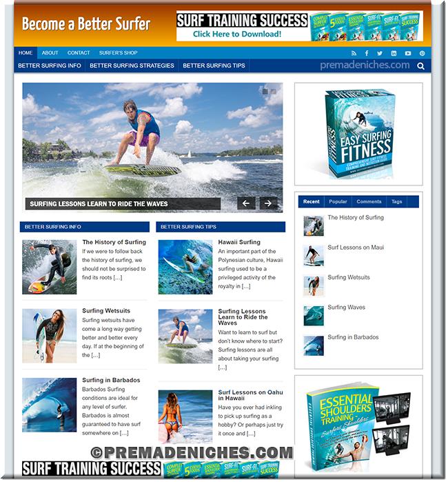 surfing niche blog