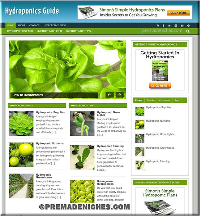 hydroponics websites
