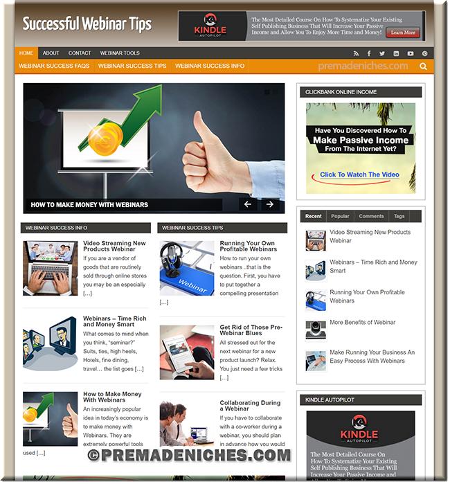 Webinar Tips Turnkey PLR Blog