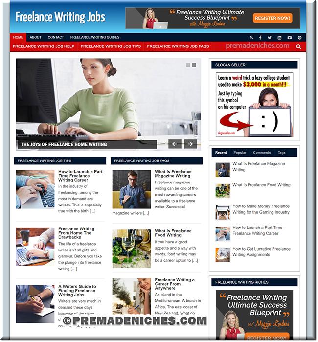 Freelance Writing PLR Site