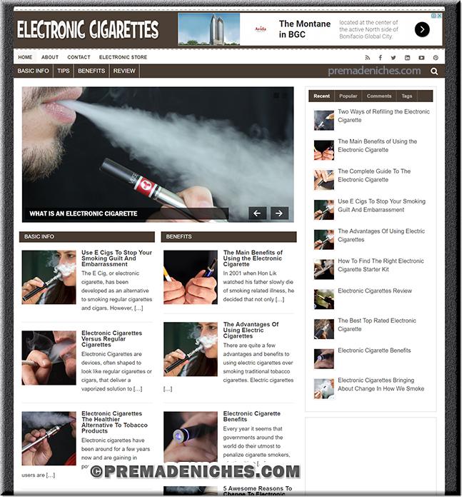 Electronic Cigarette PLR Blog