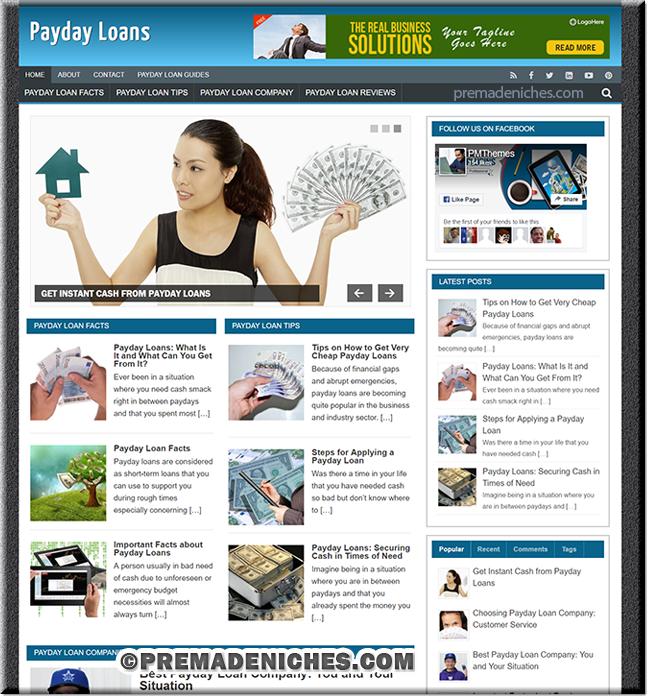 payday loans niche blog