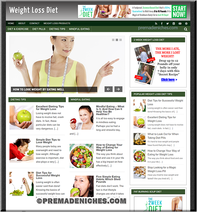 weight loss diet site