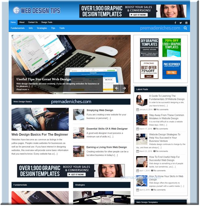 Web Design PLR Blog