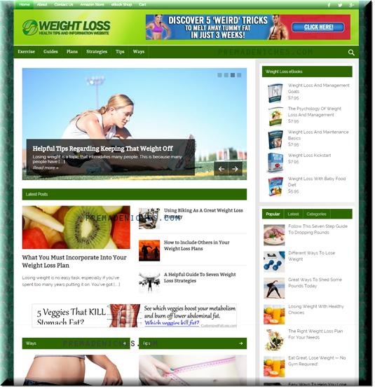 Premium Weight Loss Blog