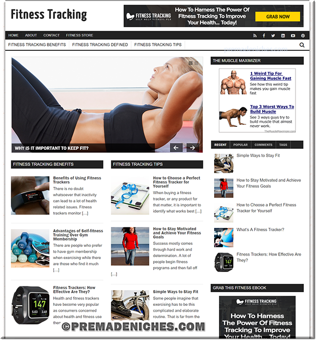 Fitness Tracking Turnkey Blog