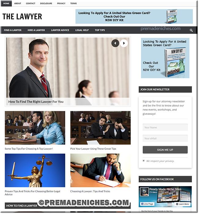 Lawyer or Attorney PLR Blog