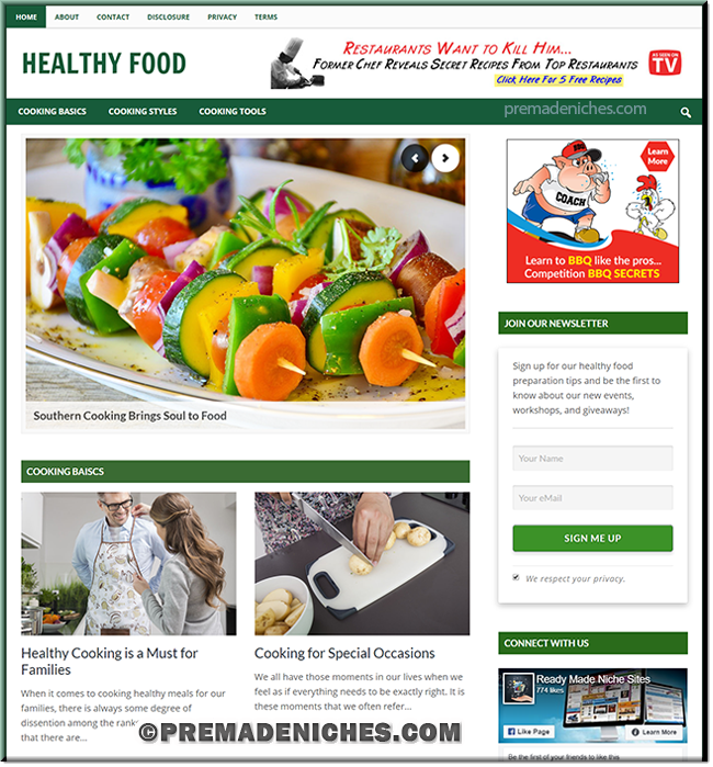 Healthy Food Preparation Blog