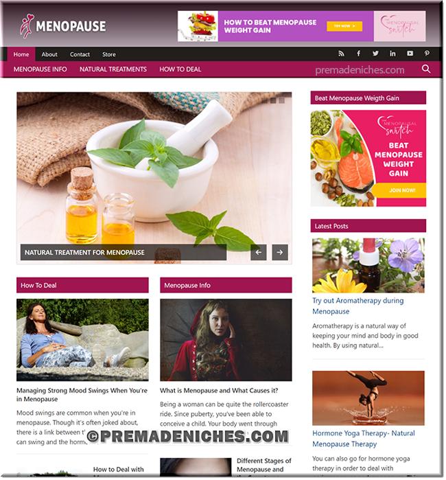 Pre-made Menopause Blog
