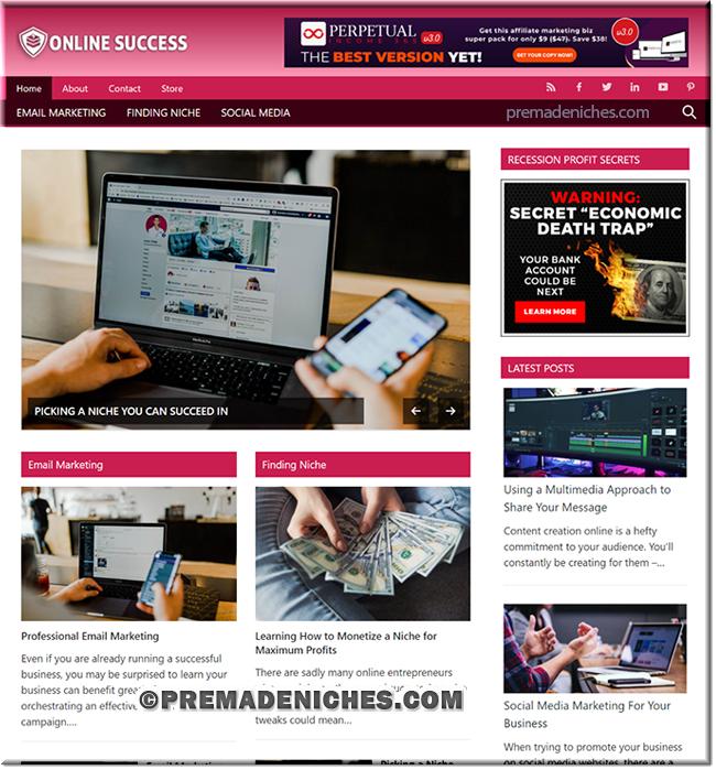 Ready Made Online Success Blog
