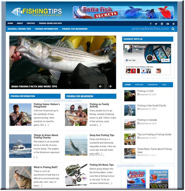 fishing niche blog