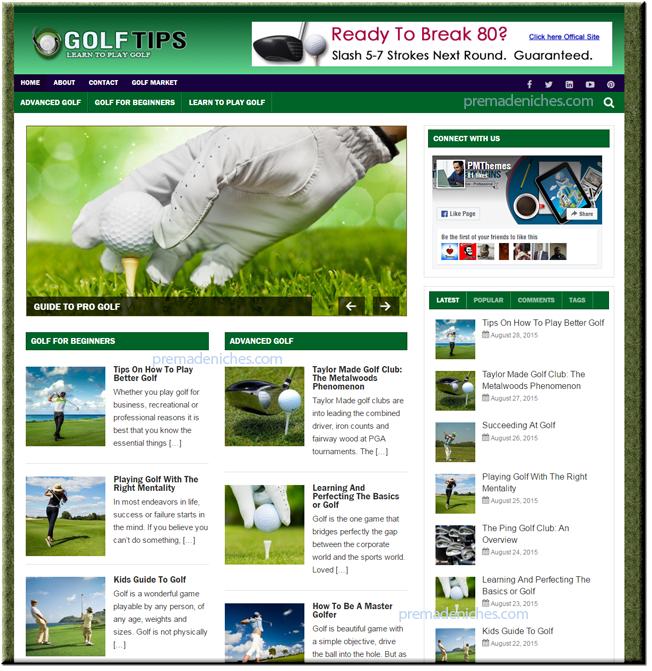 golf niche blog