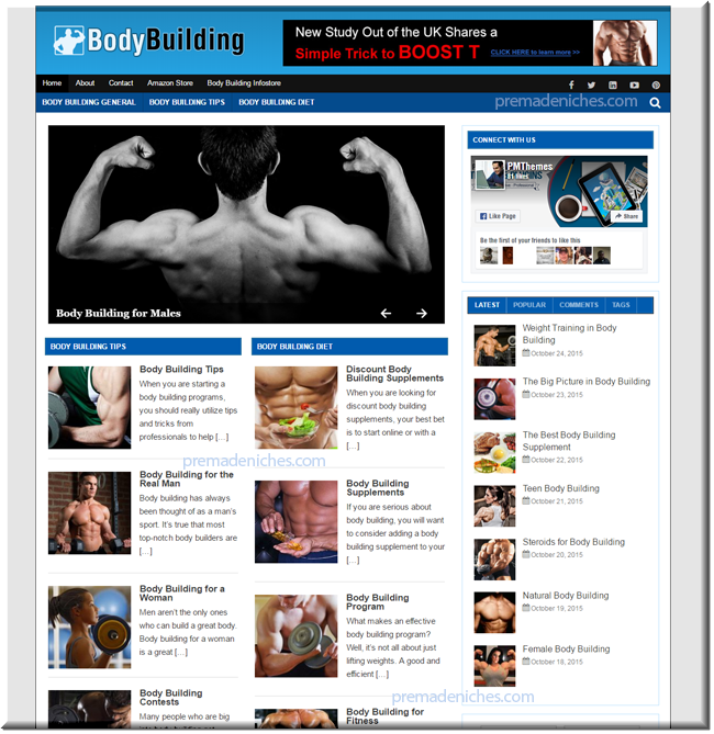 body building start up blog