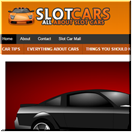 Slot Cars Turnkey Site
