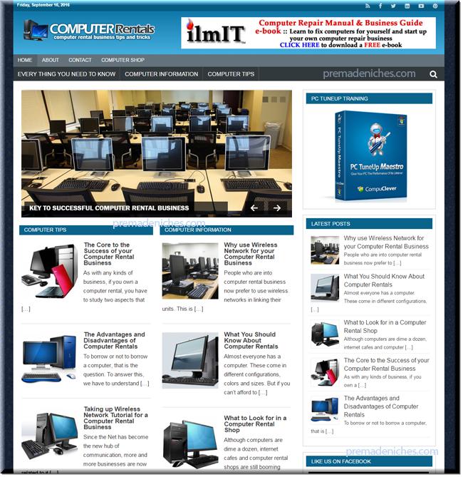 Computer Niche Blog