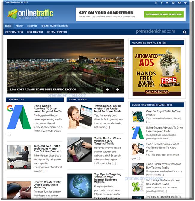 Online Traffic Niche Blog